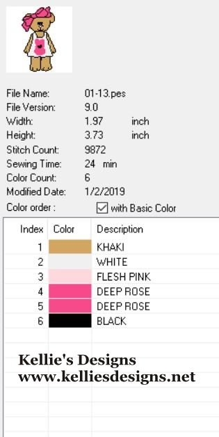 01-13 Color Chart