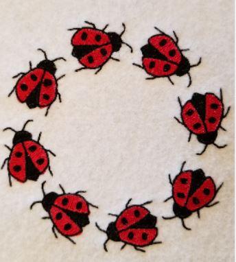 Lady Bug Ring