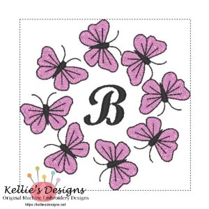 Butterfly Monogram B
