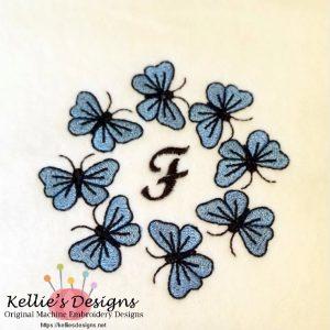Butterfly Monogram F