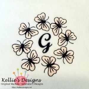 Butterfly Monogram G