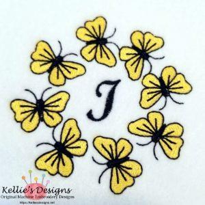 Butterfly Monogram I