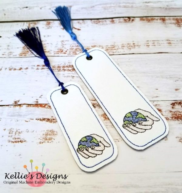 World In His Hands Bookmark