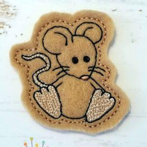 Little Mouse Feltie