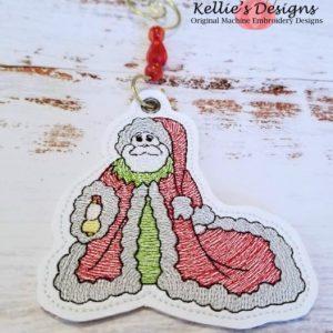 Antique Santa Ornament 2
