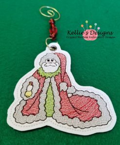 Antique Santa Ornament 2