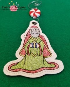 Antique Santa Ornament 3