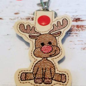 Rudolph Snap Tab
