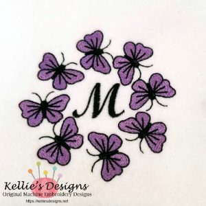 Butterfly Monogram M