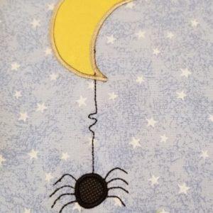 Spider Moon Applique
