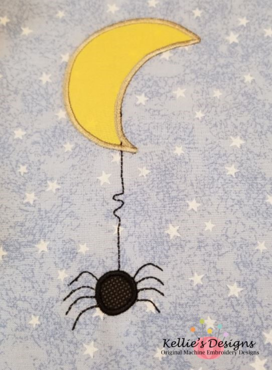 Spider Moon Applique