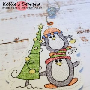 Penguin Christmas Tree Ornament