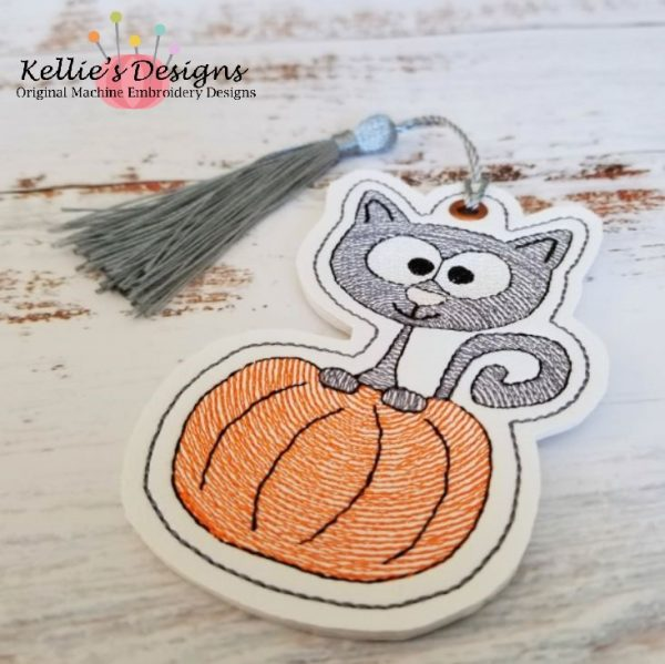 Cat In Pumpkin Ornament
