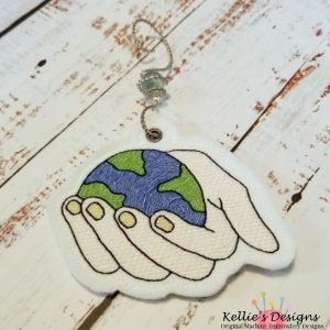 World In His Hands Ornament