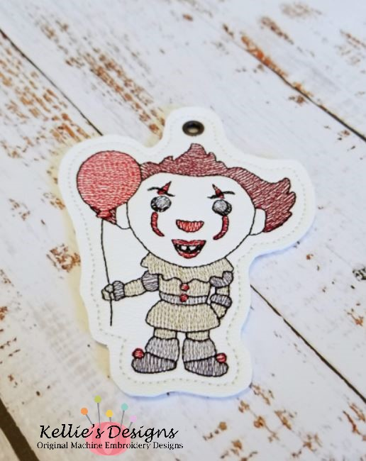 Scary Clown Ornament