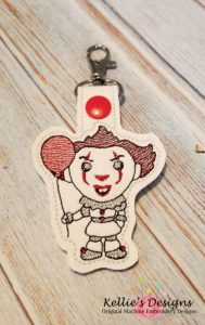 Scary Clown Snap Tab Set
