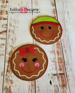 Gingerbread Coaster Set