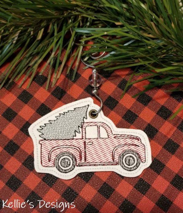 Christmas Pickup Ornament