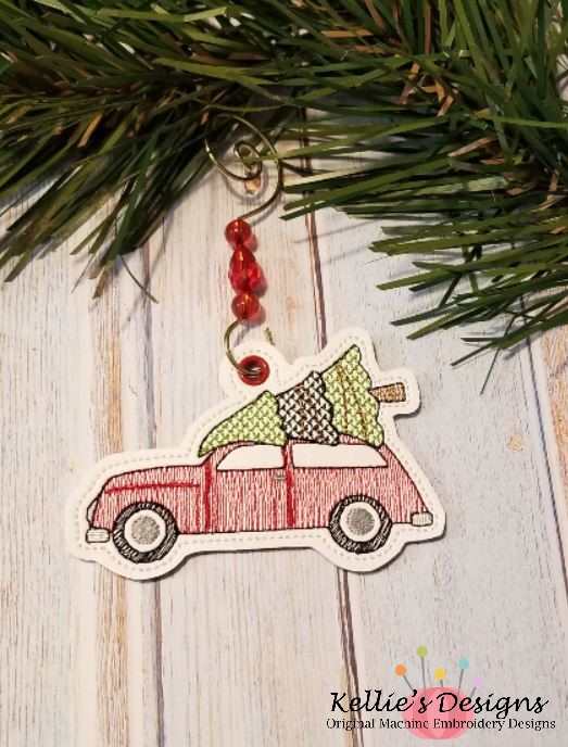 Christmas Wagon Ornament