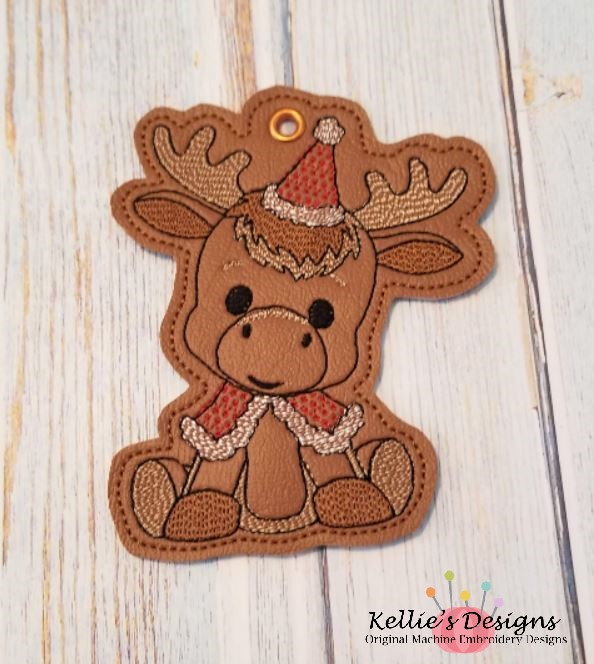 Woodland Moose Ornament
