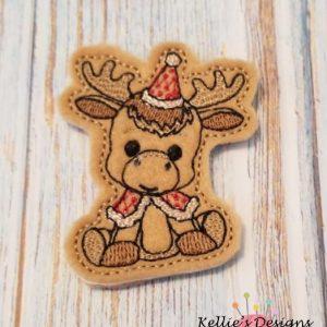 Woodland Moose Feltie