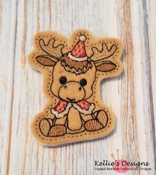 Woodland Moose Feltie