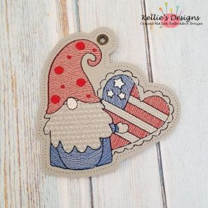 Patriotic Gnome Ornament