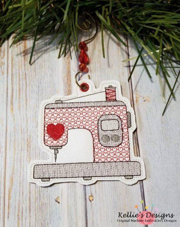 Embroidery Machine Ornament