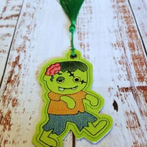 Zombie Brain Boy Ornament