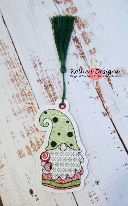 Lollipop Gnome Ornament