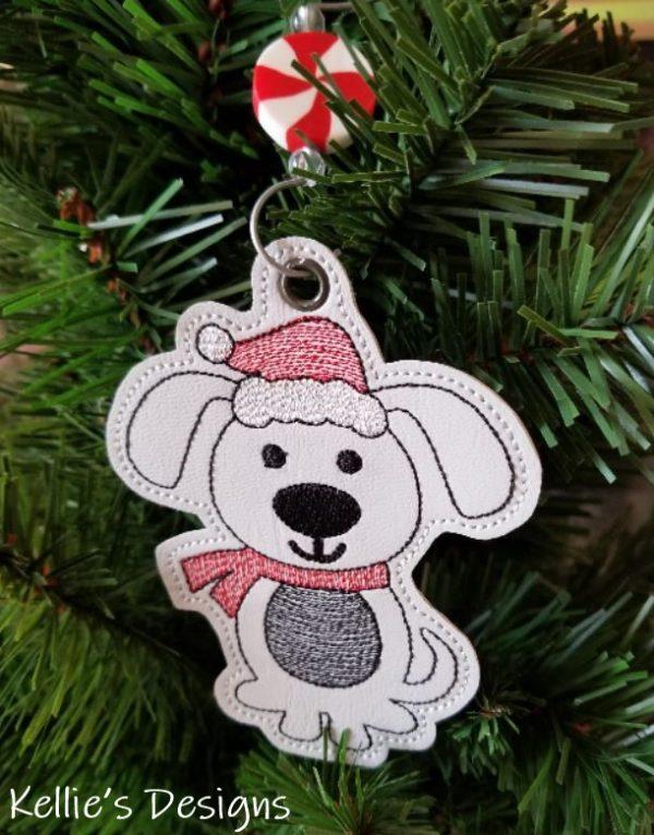 Christmas Dog Ornament
