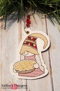 Pie Gnome Ornament