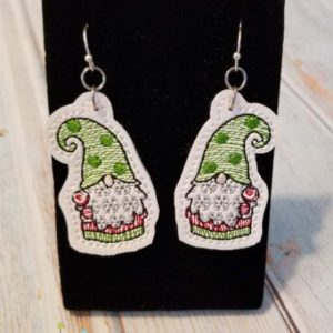 Lollipop Gnome Earrings