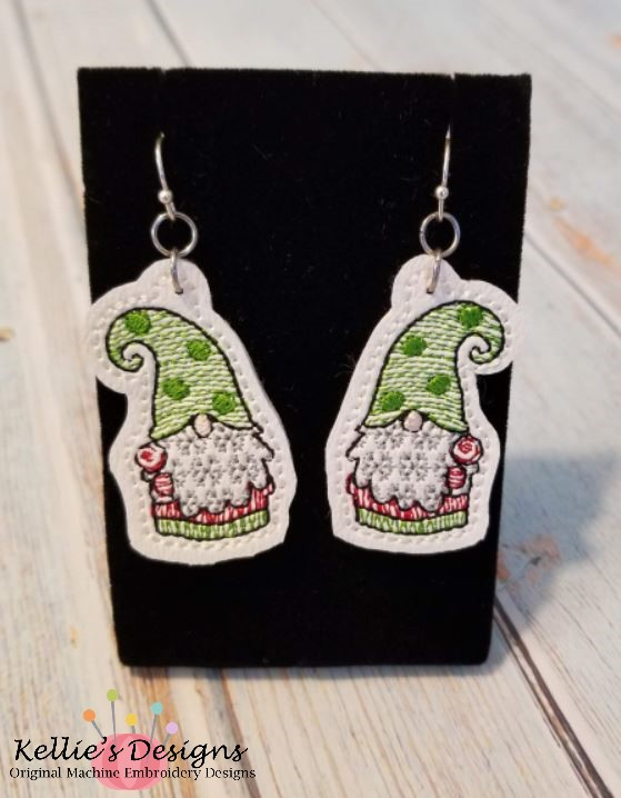 Lollipop Gnome Earrings