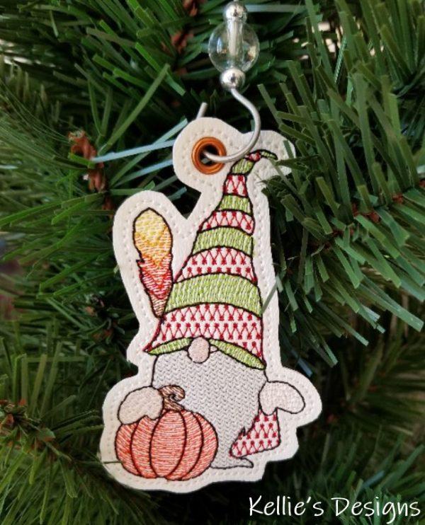 Feather Gnome Ornament