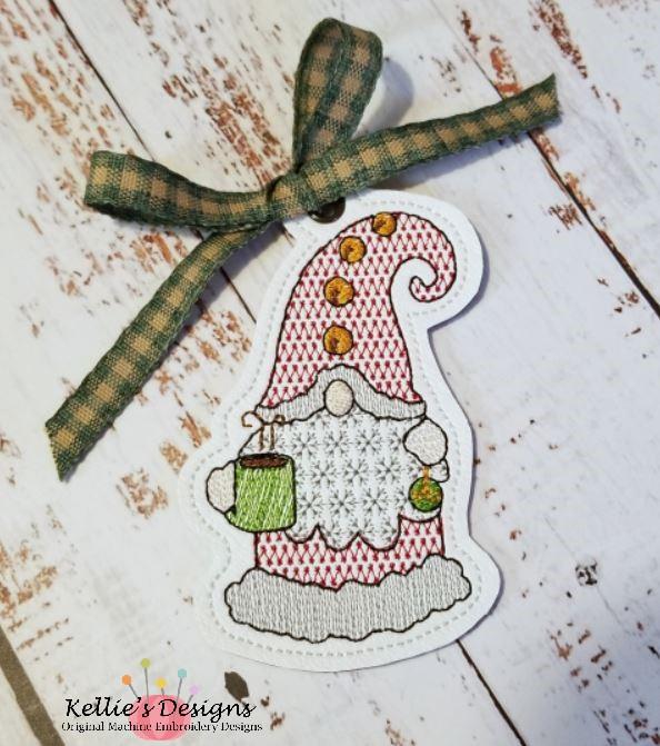 Cocoa Gnome Ornament