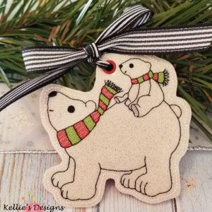 Polar Bears Ornament