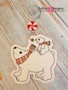 Polar Bears Ornament
