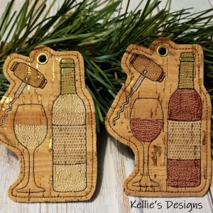 Wine Ornament