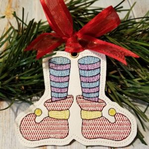 Elf Feet Ornament