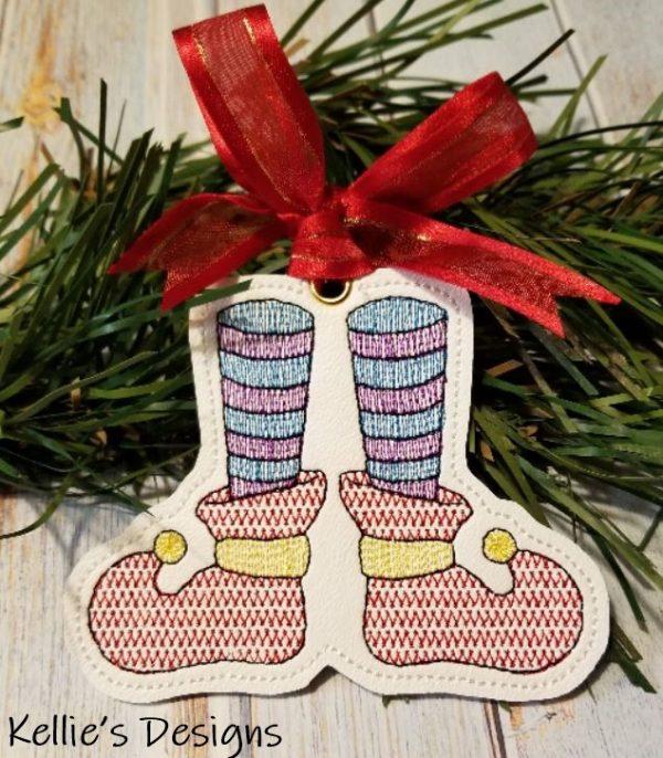 Elf Feet Ornament