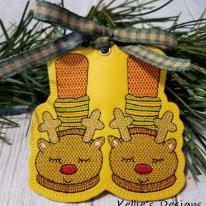 Reindeer Feet Ornament
