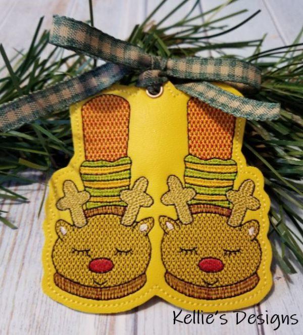 Reindeer Feet Ornament