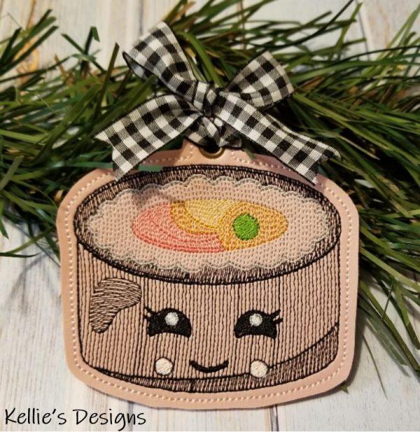 Sushi Roll Ornament