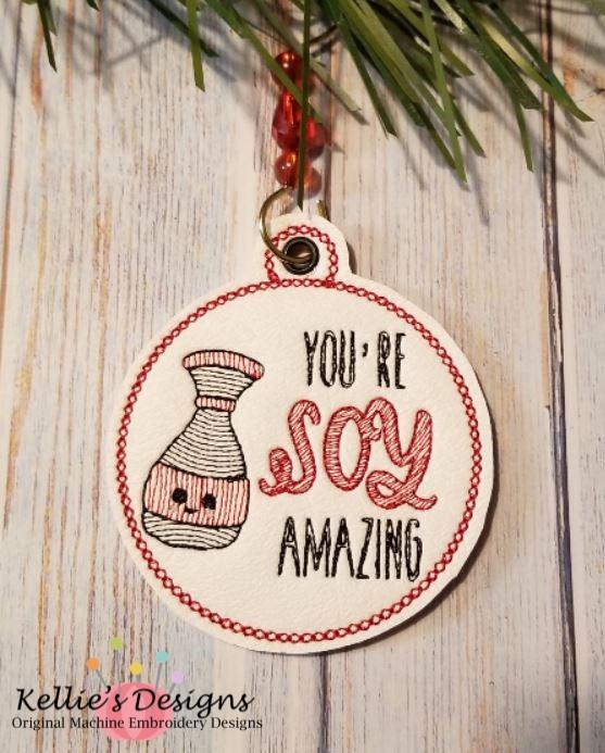 Soy Amazing Ornament