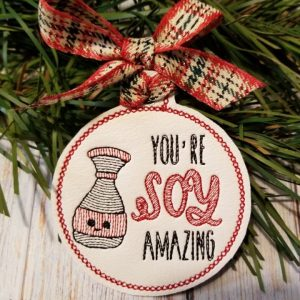 Soy Amazing Ornament