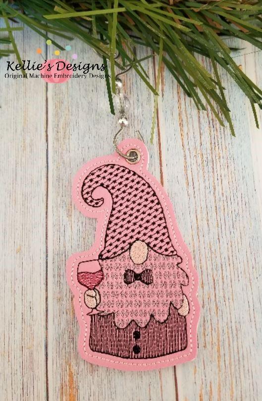 Black Tie Gnome Ornament