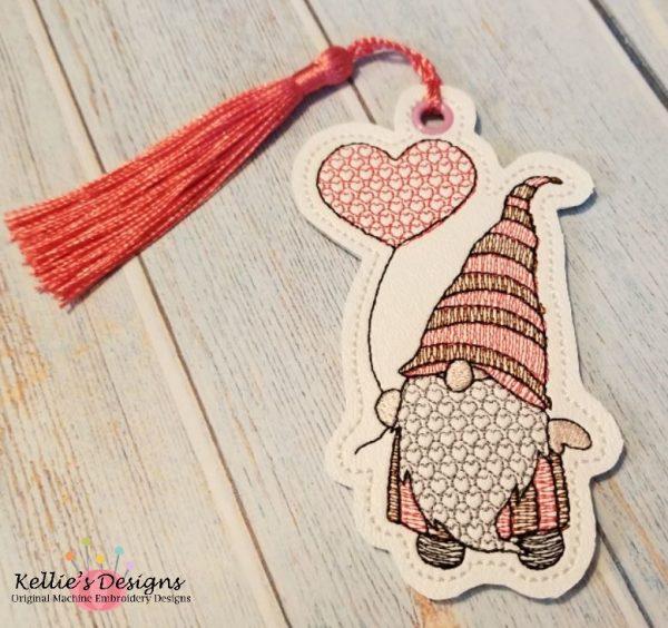 Heart Balloon Gnome Ornament