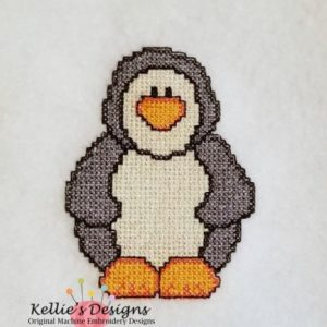 Cross Stitch Penguin