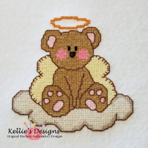 Cross Stitch Teddy Angel